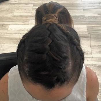 peinado cola de caballo cuernavaca